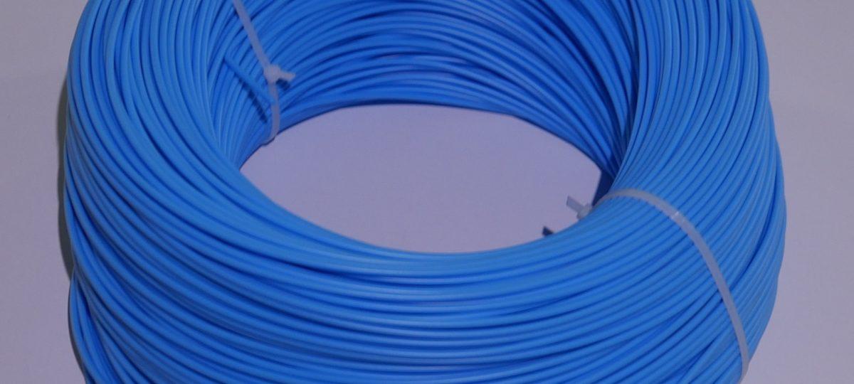 ПНД пруток 4 мм. синий