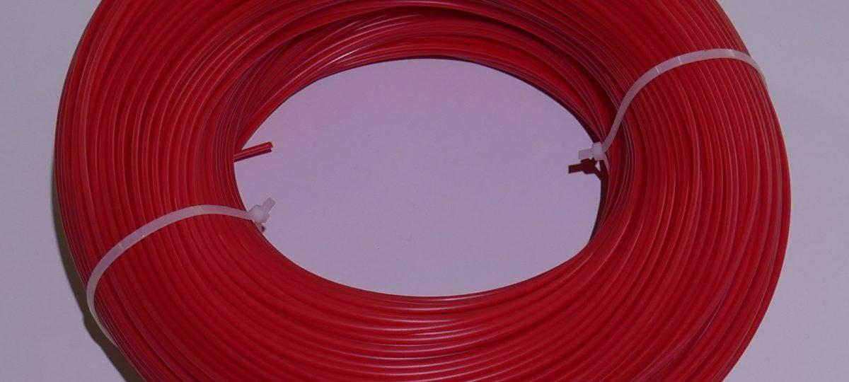 ПНД пруток 4 мм. красный