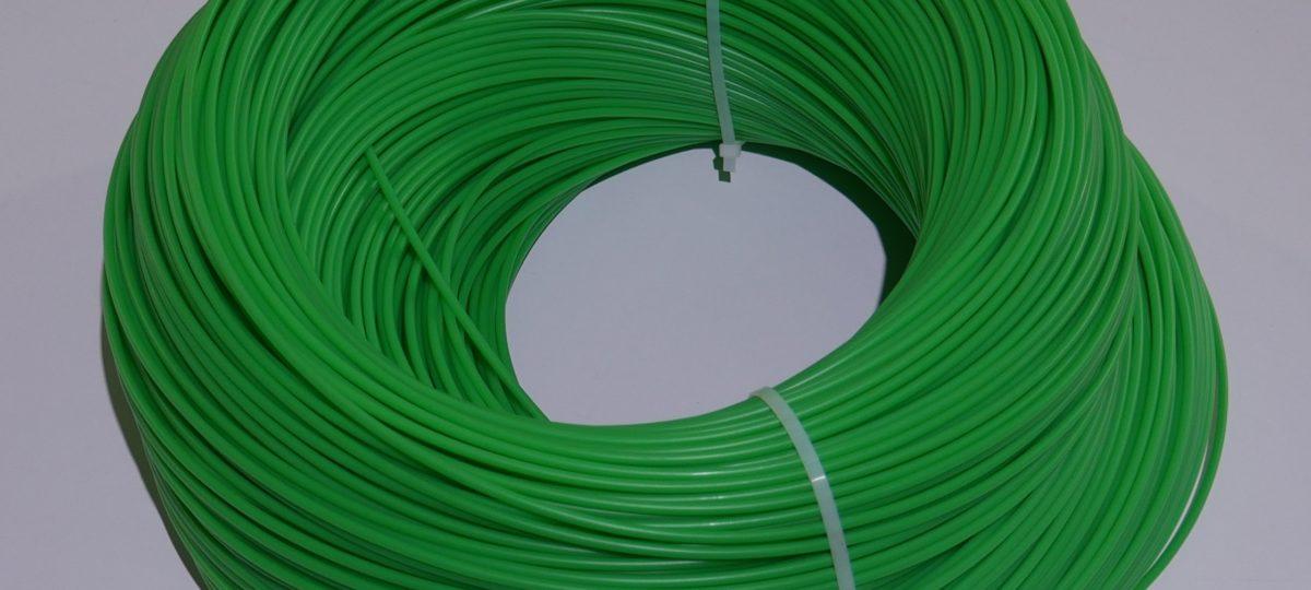 ПНД пруток 4 мм. зелёный
